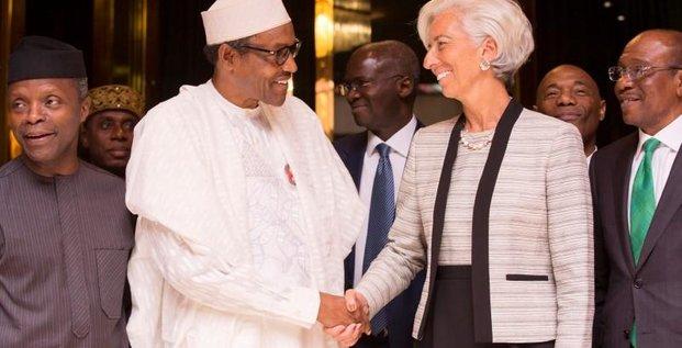 Buhari et Lagarde