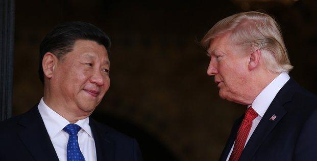 Diner entre trump et xi jinping avant d'aborder le commerce et la securite