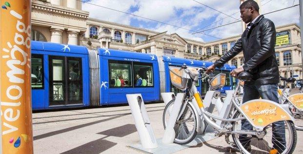 Hors Vélib', Smoove gère les solutions de vélos-en libre-service dans 26 villes, dont Montpellier