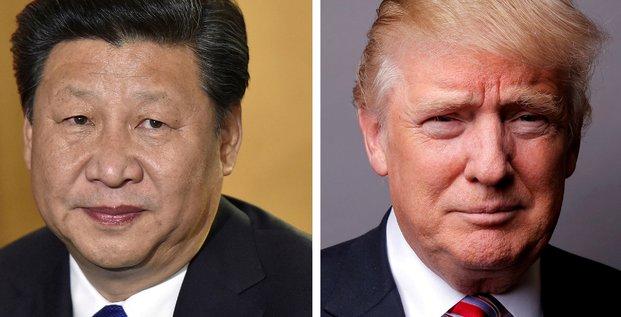 Xi Jinping et Donald Trump (etats-unis, chine)