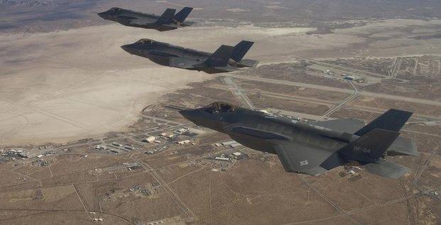 Washington va envoyer des f-35 en europe pour des entrainements