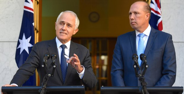 Malcolm Turnbull Peter Dutton