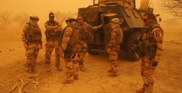 Frappes francaises a la frontiere mali-burkina faso