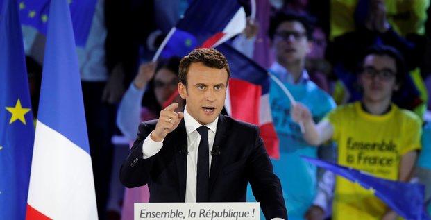 Lors de son meeting, Emmanuel Macron a présenté son projet concernant le CETA, l'accord de libre-échange entre l'Union européenne et le Canada.