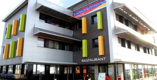 Le centre d'affaires Espace Entreprise à Montpellier Garosud.
