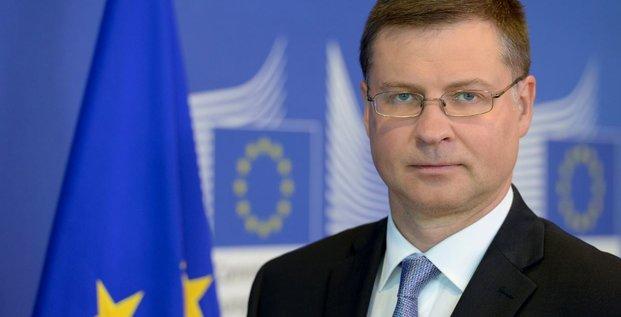 Valdis Dombrovskis Commission Finance