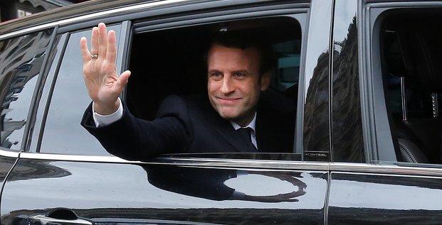 Emmanuel macron elu president avec 65% des voix