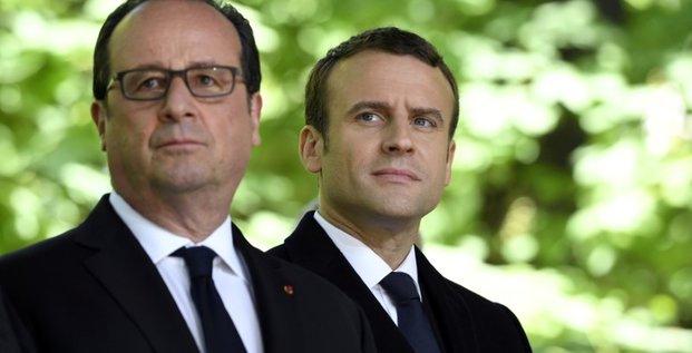 Hollande presse macron de reconcilier le pays pour eviter le pire