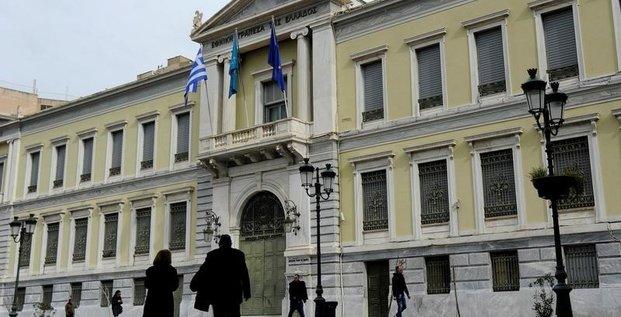 La grece revoit en baisse sa prevision de croissance pour 2017