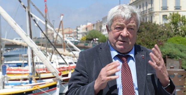 Jean-Claude Gayssot, président du port de Sète-Frontignan
