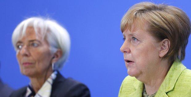 Lagarde Merkel