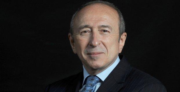 Gérard Collomb portrait