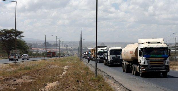 transport route camions poids lourds citerne