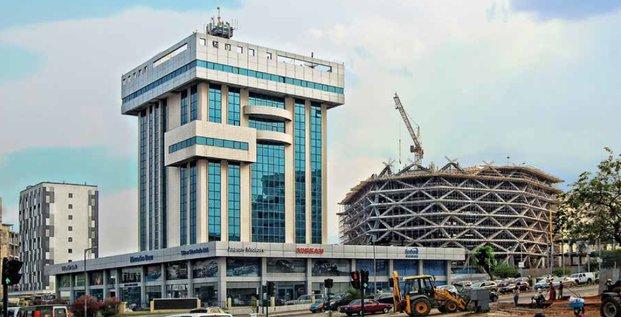 Infrastructures btp construction chantier