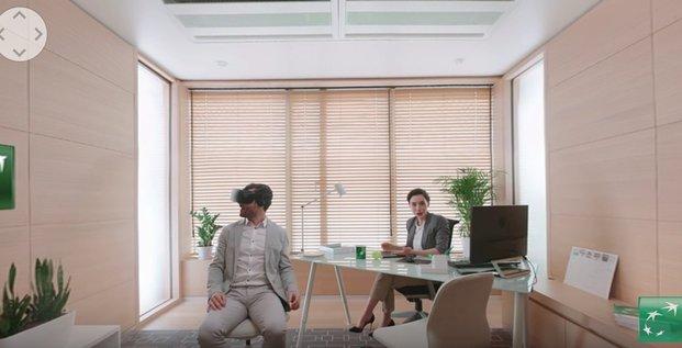 Réalité virtuelle BNP