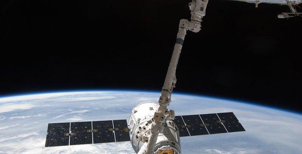 La capsule non-habitée Dragon de la société SpaceX doit être lancée vers la Station spatiale internationale (ISS) pour une onzième mission.