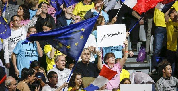 Avec de bons scores lors de la présidentielle, La République en Marche mise, maintenant, sur le scrutin législatif pour étendre un peu plus son influence.