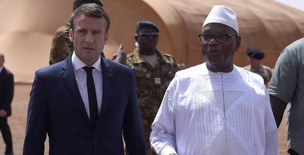 Macron confirme l'engagement militaire francais au sahel