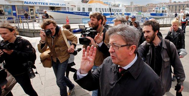 Jean Luc Mélenchon à Marseille (France insoumise, législatives)