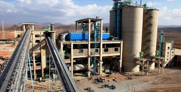 National Cement Share Company cimenterie Ethiopie usine industrie