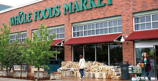 Les magasins d'alimentaire whole foods achetes par amazon