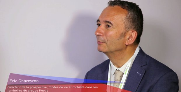 Eric Chareyron, Keolis, Smart City Bordeaux