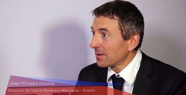 Jean-Philippe Dreuille, Enedis, Smart City Bordeaux