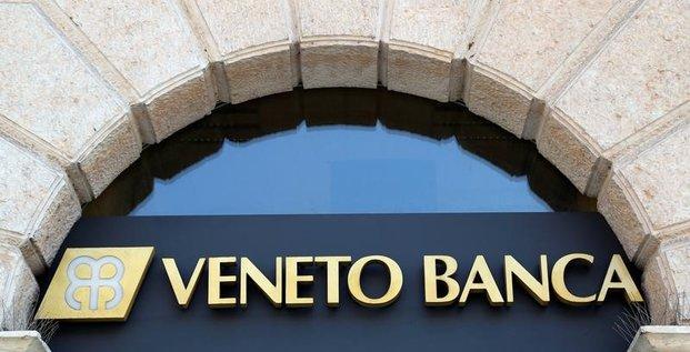 Deux banques de venetie vont etre mises en liquidation, dit la bce