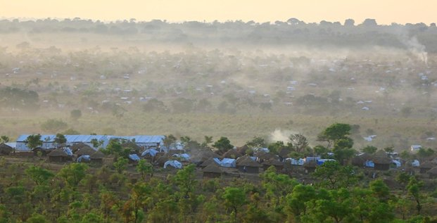 camp réfugiés sud-soudanais Bidi bidi Ouganda