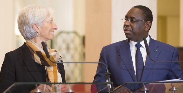 Macky Sall & Lagarde