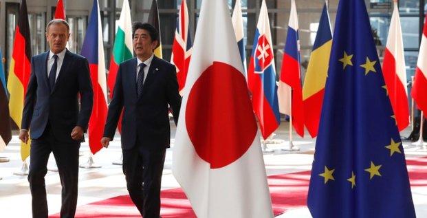 L'eu et le japon vont signer un accord de libre echange