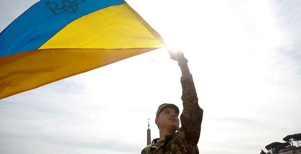 kiev (ukraine) prépare son entrée à l'OTAN