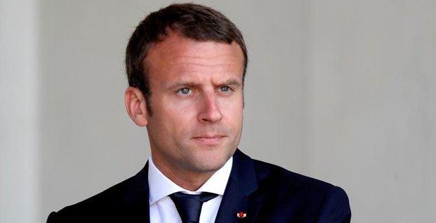 Macron a emis des propositions a alger sur la paix au mali