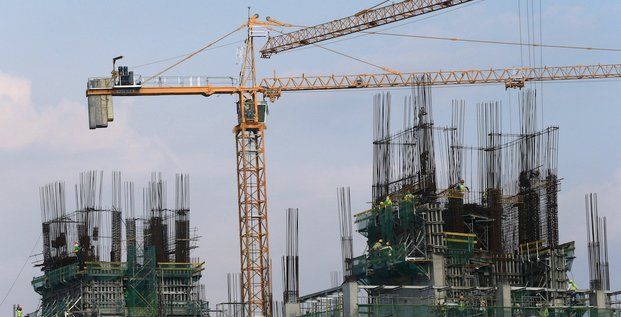 construction en Chine