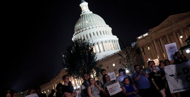 Le senat americain enterre l'abrogation de l'obamacare