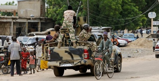 militaire armée Nigéria Maiduguri Etat Borno
