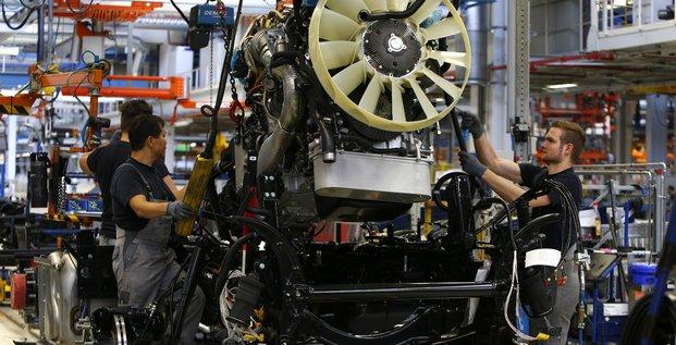 Allemagne, industrie automobile, emploi, travail, chômage, constructeur, camion, Man,