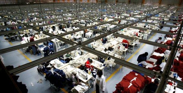 Usine textile Kenya Nairobi industrie