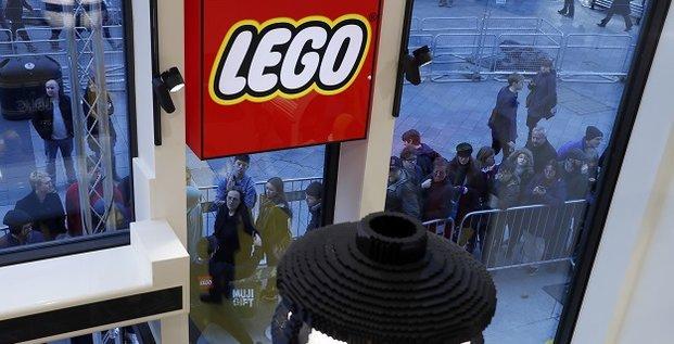 La plus grande boutique de Lego à Londres