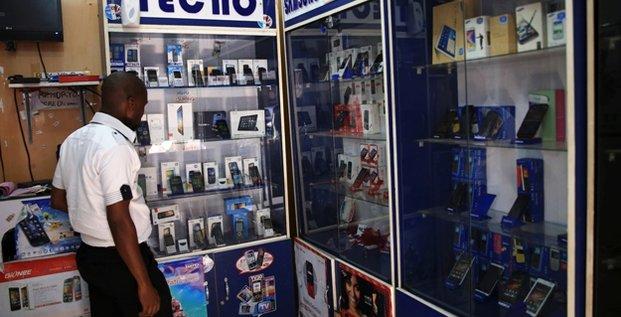 Nigéria téléphonie mobile commerce Intenet