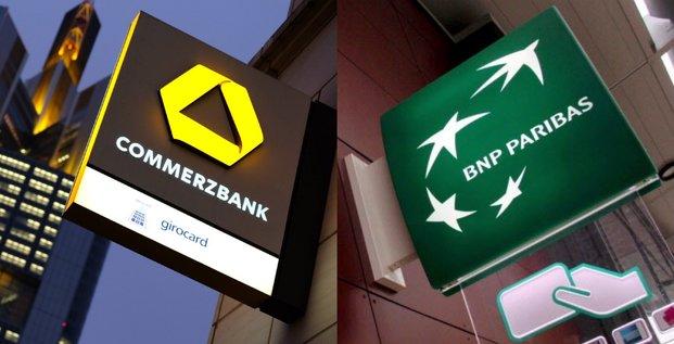 Commerzbank, BNP Paribas, banque, rachat, fusion, compo