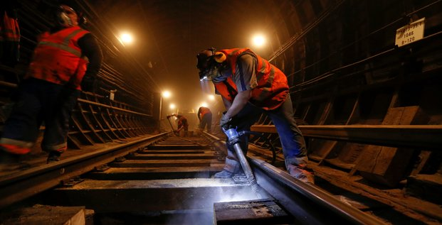metro construction tunnel infrastructures btp rails