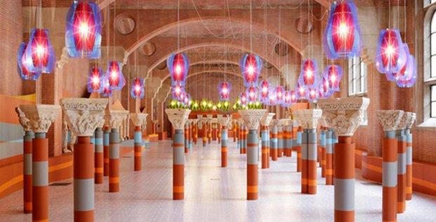 Installation de Jorge Pardo au Musée des Augustins dans le cadre du Festival international d'art de Toulouse