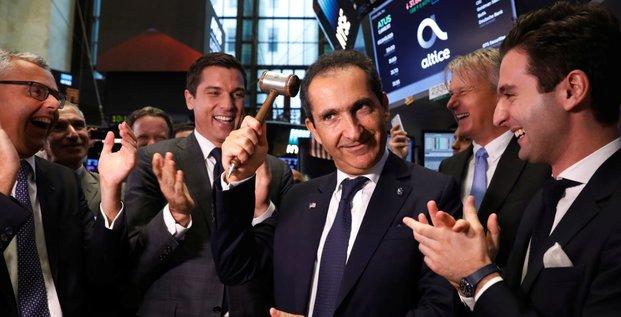 Altice IPO NY Drahi Combes