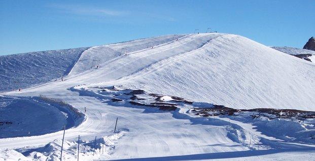 Montagne neige