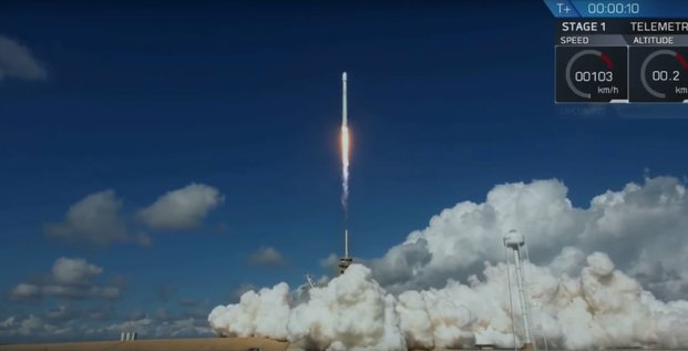 Falcon 9 SpaceX Elon Musk