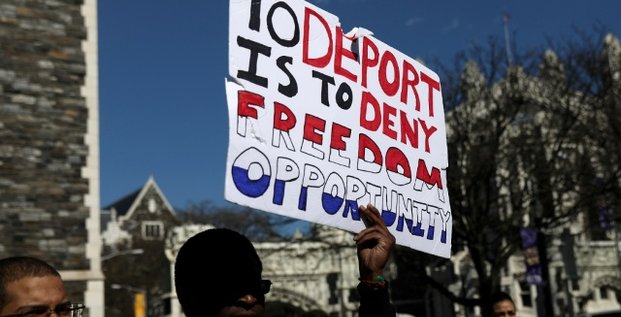 immigration Etats-Unis manifestation