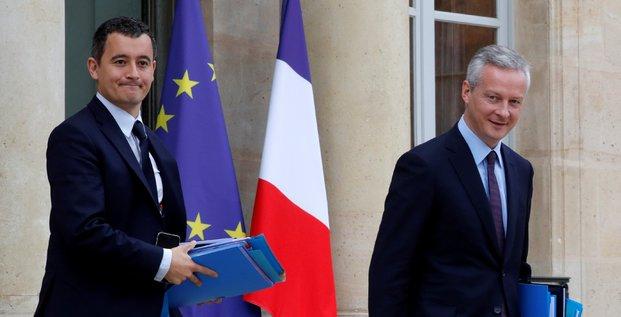 Gérald Darmanin & Bruno Le Maire