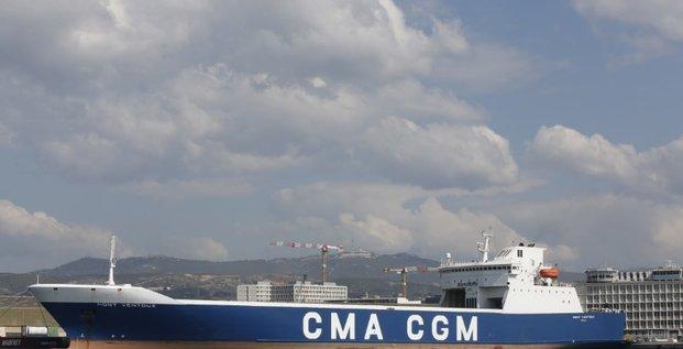 Cma cgm voit le calme apres la tempete dans le transport maritime