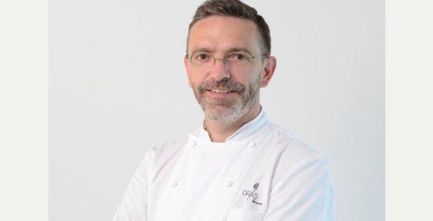 Sébastien Bras, chef étoilé du Suquet à Laguiole (Aveyron)